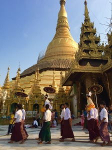 Shwedagon, Yangon, March 2015.